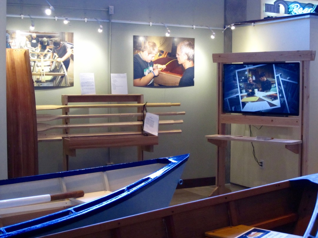 February 6, 2016. TCBB Exhibit at Washington State Historical Society